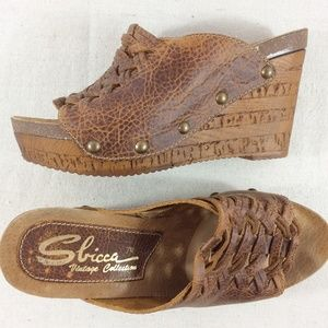 Sbicca Vintage Collection wedges